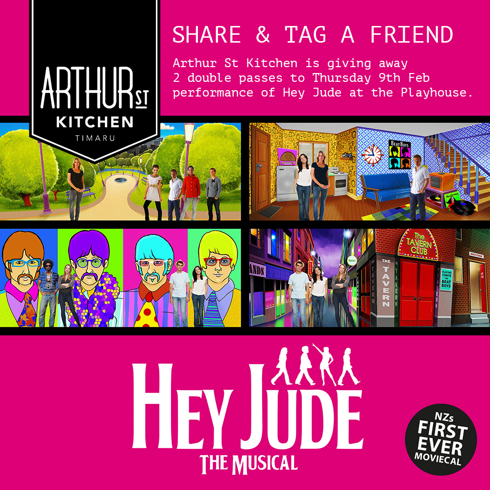 2 double passes of 'Hey Jude' at the Playhouse!